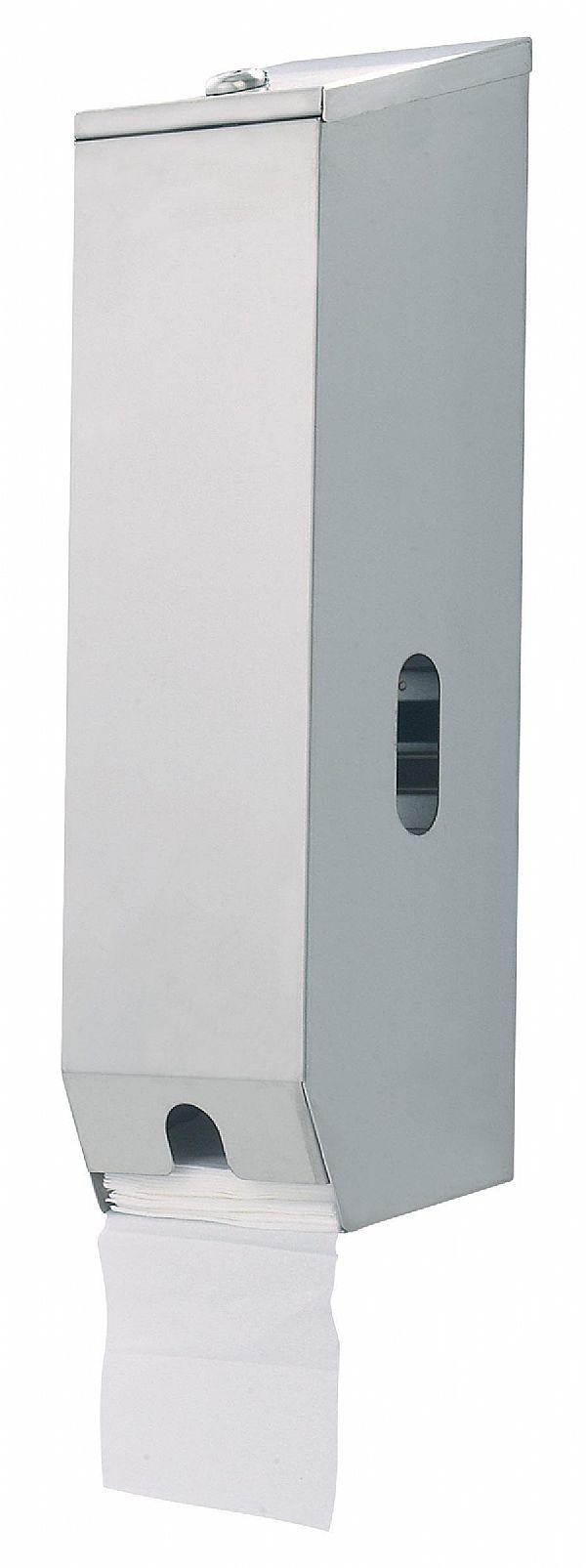 A 833 Toilet Roll Dispenser Stainless Steel Satin 3