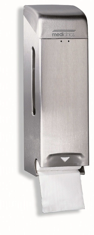Mediclinics Stainless Steel Satin Triple Standard Toilet