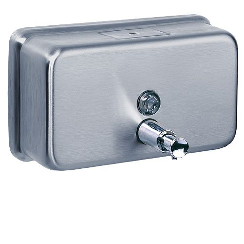 Bathroom Wall Mounted Manual Soap Dispenser Hand Sanitizer Bottles Hotel Bathroom Kitchen Soap Dispenser Bottles